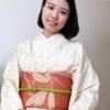 着物と帯で柄を合わせてみる/大阪の着付け教室きものたまより