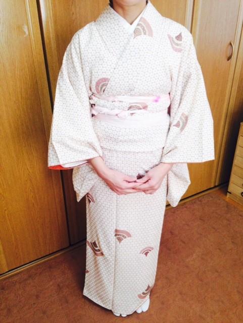 着物から帯の完成まで!基本コース3回~5回目/大阪の着付け教室きものたまより