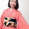 袋帯か!?ってくらい豪華な名古屋帯/大阪の着付け教室きものたまより