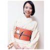 ここが決まれば美しい・チューリップ柄の帯の柄合わせ/大阪の着付け教室きものたまより