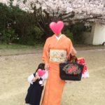 お子さんの入園式にお着物を着て/大阪の着付け教室きものたまより