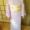 小学校の卒業式にお着物で出席/大阪の着付け教室きものたまより