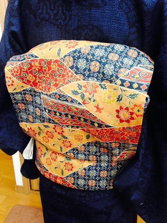 レッスン順序をカスタマイズのお生徒さん/大阪の着付け教室きものたまより