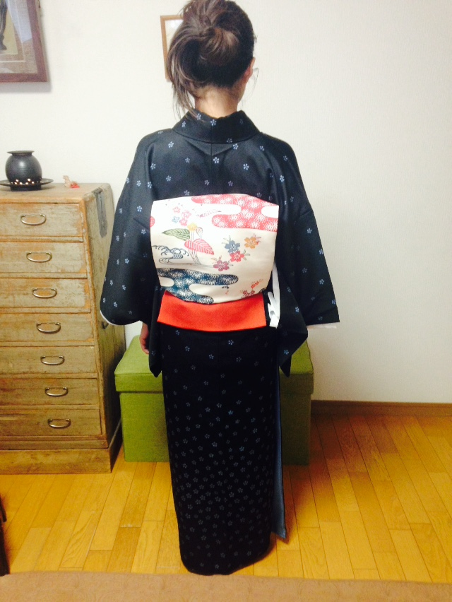 着付けは綺麗の積み重ね/大阪の着付け教室きものたまより