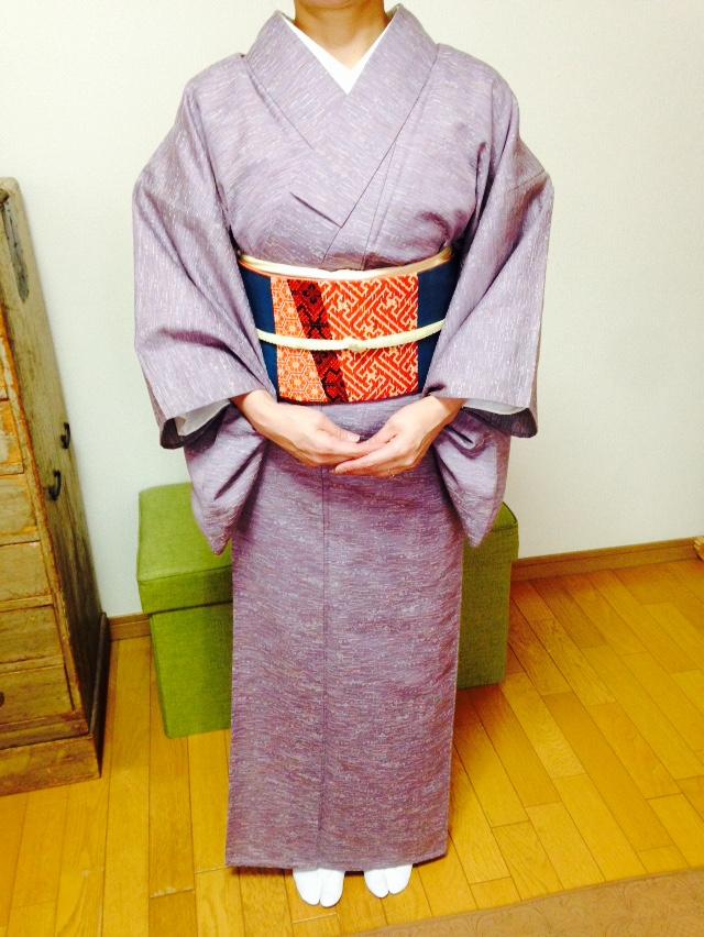 総復習で対丈の着方もレッスン!/大阪の着付け教室きものたまより