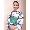 天神祭の日のコーデ/大阪の着付け教室きものたまより