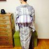美しい後姿の条件をすべて満たした着付け/大阪の着付け教室きものたまより
