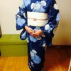 浴衣レッスンではこんなこともしています/大阪の着付け教室きものたまより