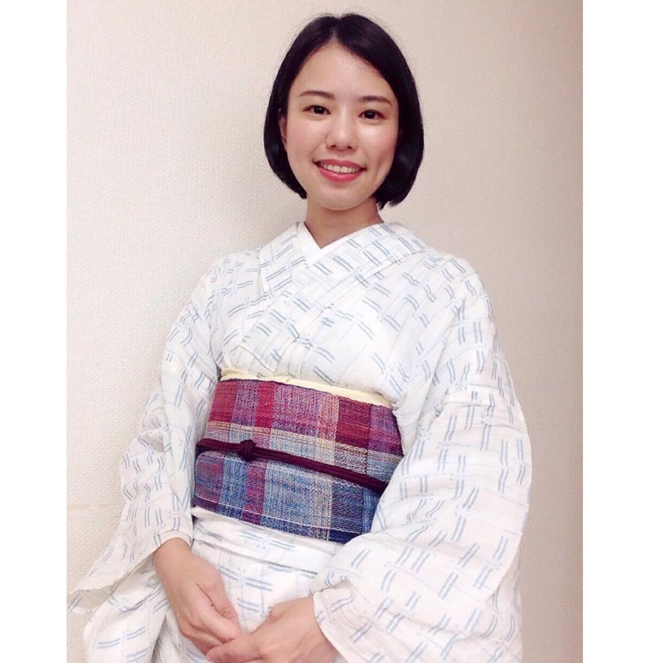 夏着物を寝間着に見えないようにするには・・・/大阪の着付け教室きものたまより