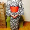 お誂えでなくてもこんなに綺麗に浴衣は着れます/大阪の着付け教室きものたまより