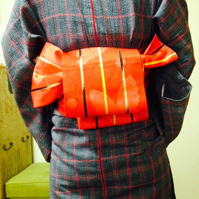 7種類も!帯結び習得されました/大阪の着付け教室きものたまより