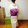 着物から一重太鼓の完成まで/大阪の着付け教室きものたまより