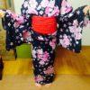 小学4年生のSちゃんの浴衣レッスン/大阪の着付け教室きものたまより