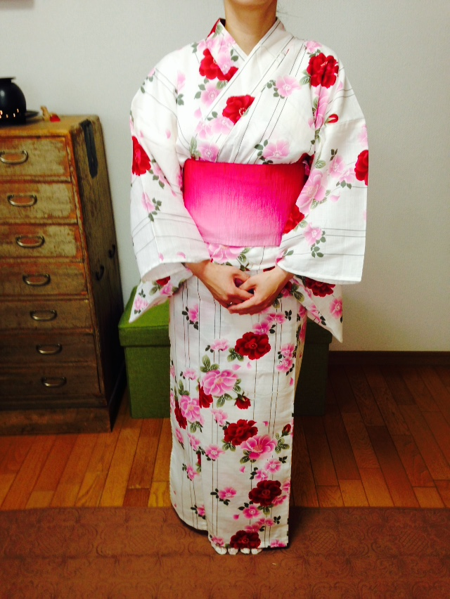 3種類の帯結びをじっくりと/大阪の着付け教室きものたまより