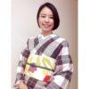 久々の単衣帯・9月最初の着物コーデ/大阪の着付け教室きものたまより