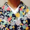 衿合わせのレッスンをみっちりいたします/大阪の着付け教室きものたまより