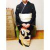 祖母が誂えた伯母の留袖/大阪の着付け教室きものたまより