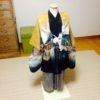 七五三・男児袴の着付けの復習レッスン/大阪の着付け教室きものたまより