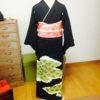 留袖の他装と自装のレッスン/大阪の着付け教室きものたまより
