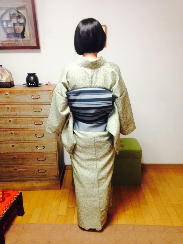 一重太鼓が完成しました!/大阪の着付け教室きものたまより