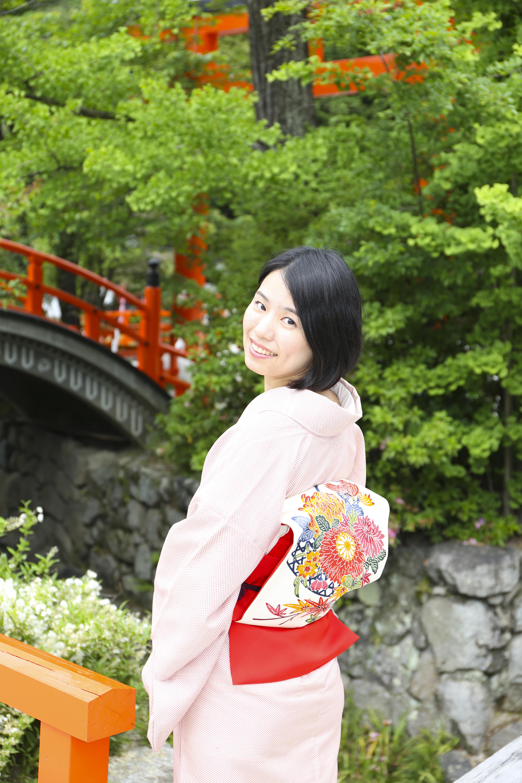 青山智圭子さんの写真が受賞されました!/大阪京橋のマンツーマン着付け教室