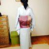 基本となる総柄の帯で一重太鼓/大阪のマンツーマン着付け教室