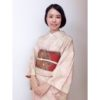 秋最初の袷着物は秋色に/大阪京橋のマンツーマン着付け教室