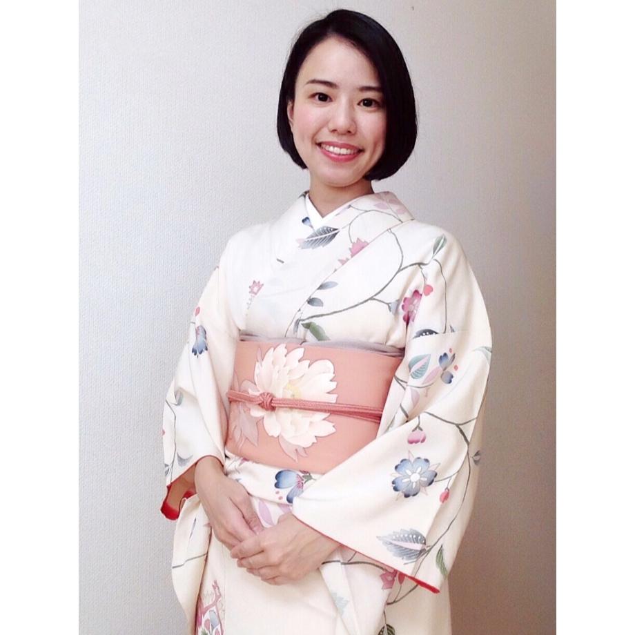 着物コーデ・着付けやすい着物としにくい着物と帯【大阪京橋のマンツーマン着付け教室】