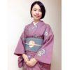 雨の多い時期の着物は紬3つと小紋のコーデ【大阪京橋のマンツーマン着付け教室】
