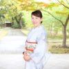 着物でお散歩プチ撮影会秋の部のお写真のご紹介【大阪京橋のマンツーマン着付け教室】