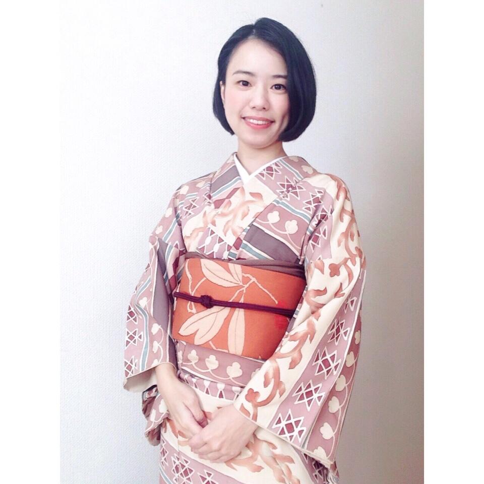 最近のコーデとそれぞれの着物や帯の購入先など【大阪京橋の着付け教室きものたまより】