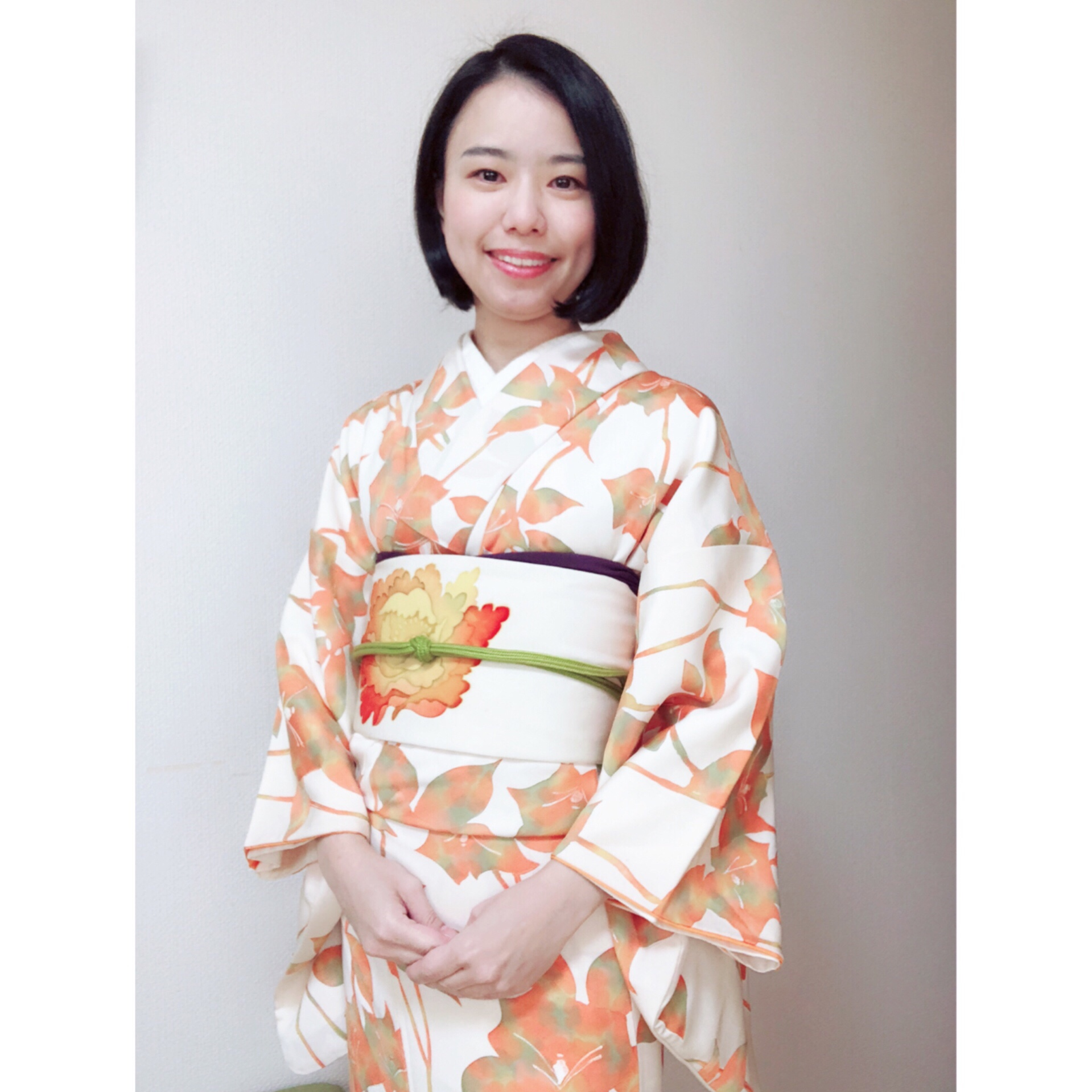 昼ドラがいかに好きかを着物で表現しました【大阪京橋の着付け教室きものたまより】