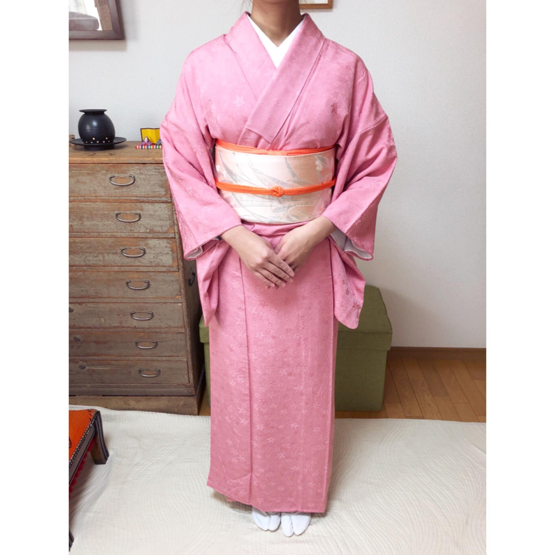 1ヵ月で着付けをマスター・1日2コマ受講のお生徒さんその3【大阪京橋の着付け教室きものたまより】