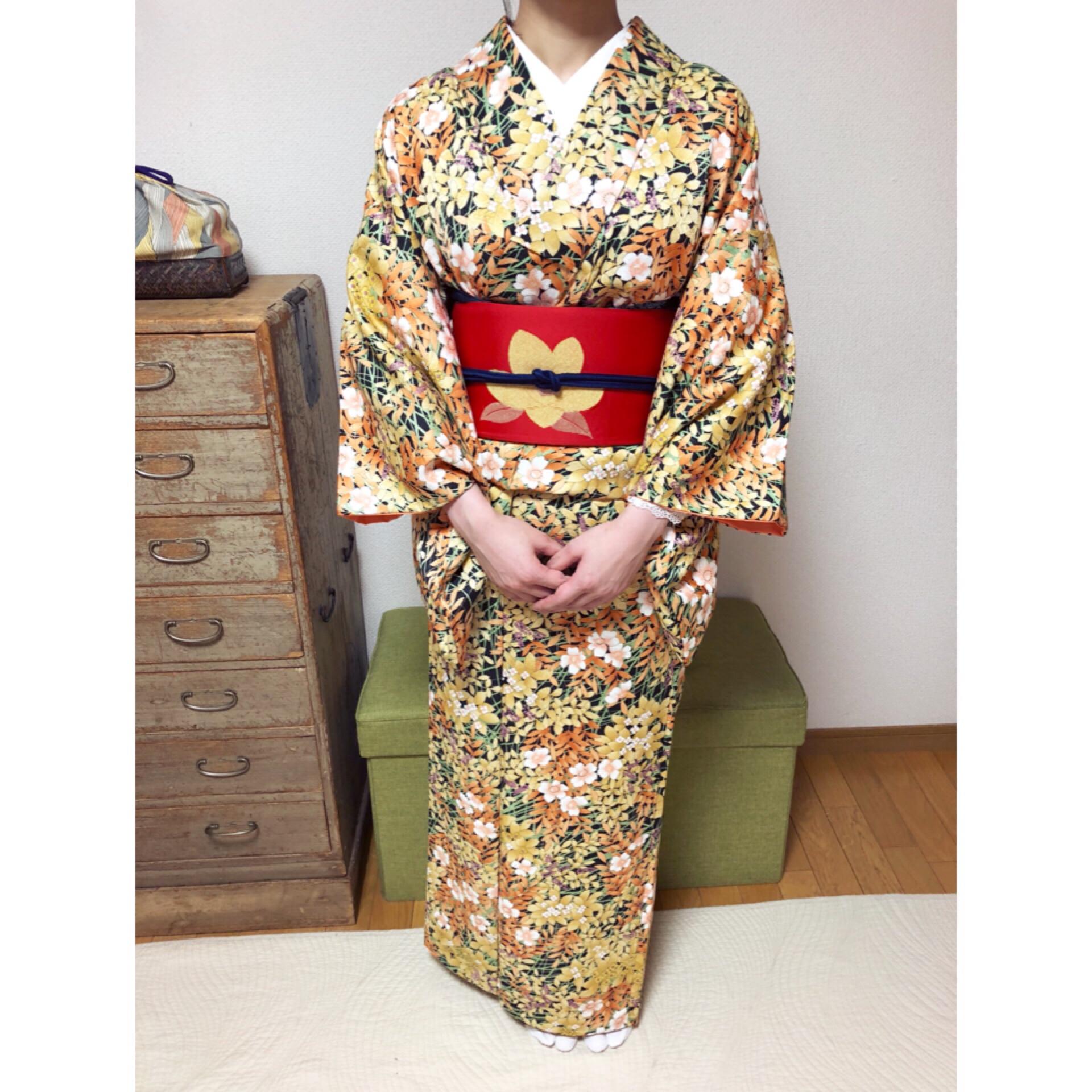 本当に着物が着れるようになりました!【大阪京橋の着付け教室きものたまより】