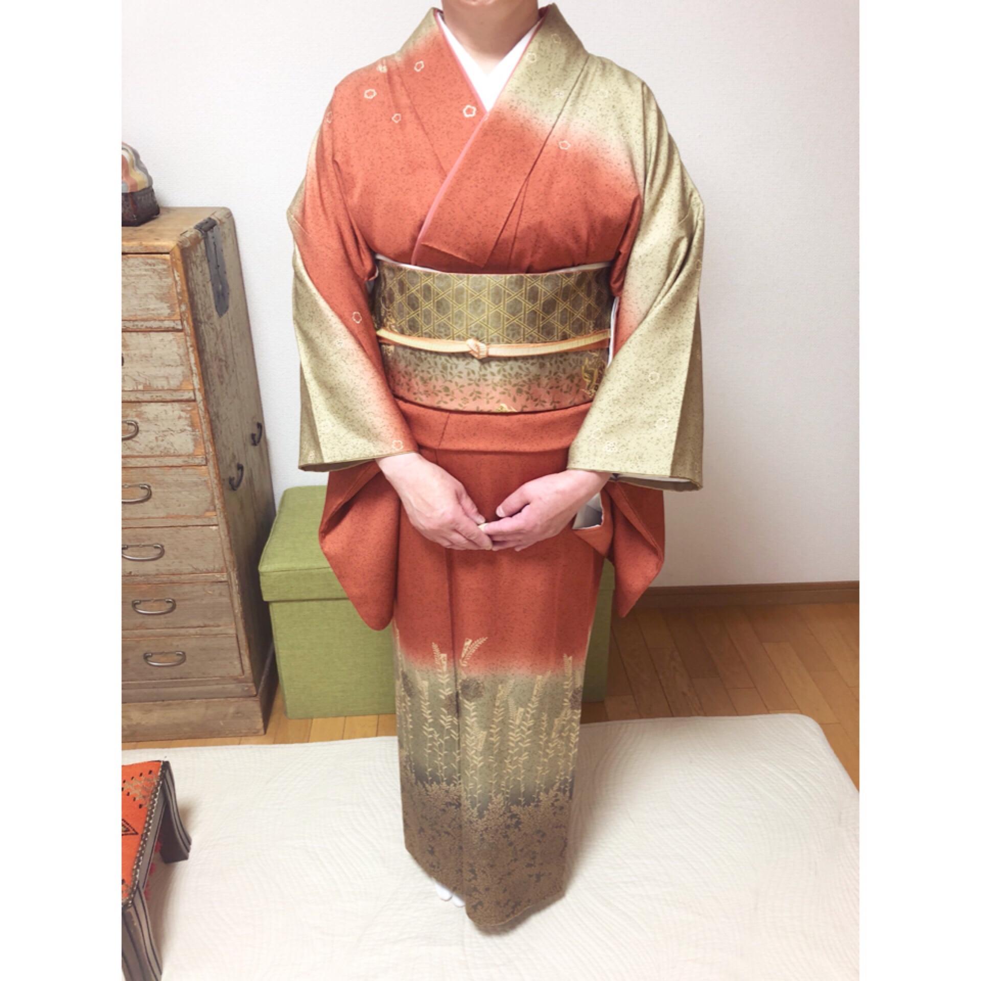 お嫁入りの時のお着物で礼装レッスン【大阪京橋の着付け教室きものたまより】