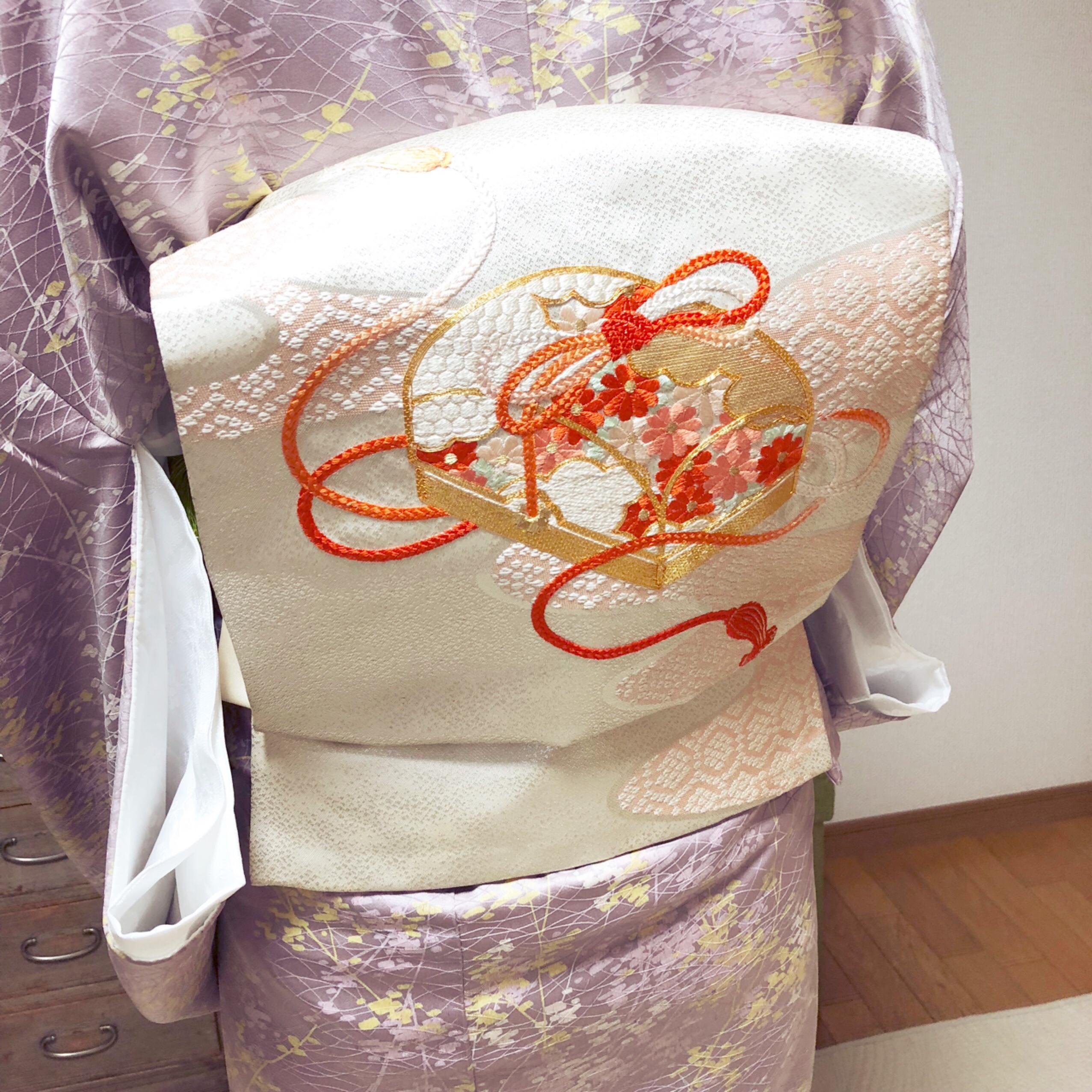 帯がゆるむのは結ぶ過程で何か所かポイントがあります【大阪京橋の着付け教室きものたまより】