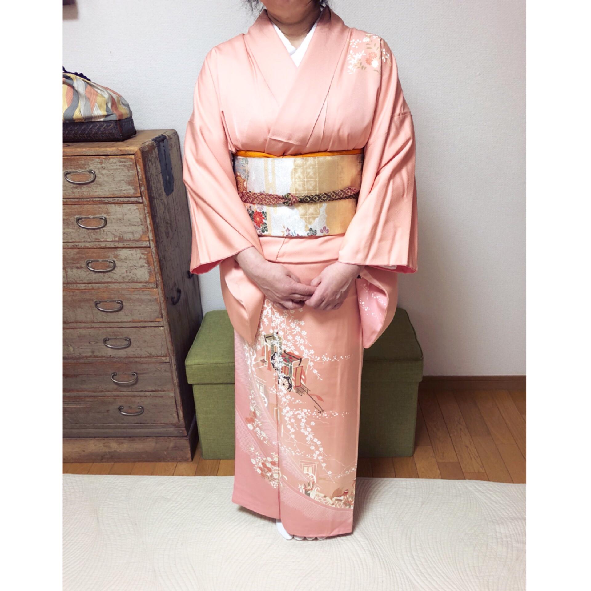礼装コースから浴衣&半幅帯コースへ【大阪京橋の着付け教室きものたまより】