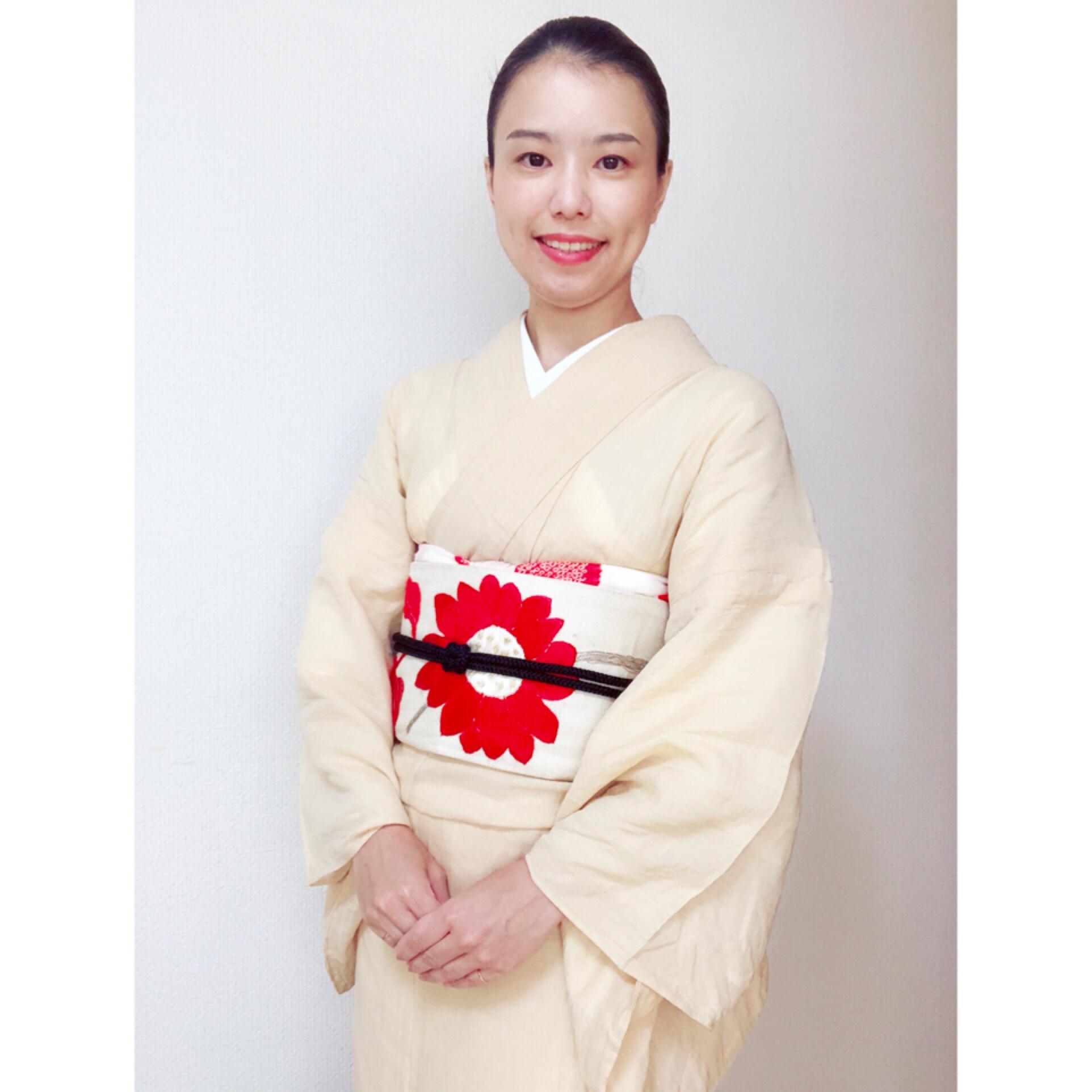 アンティークの帯と危険な着物【大阪京橋の着付け教室きものたまより】