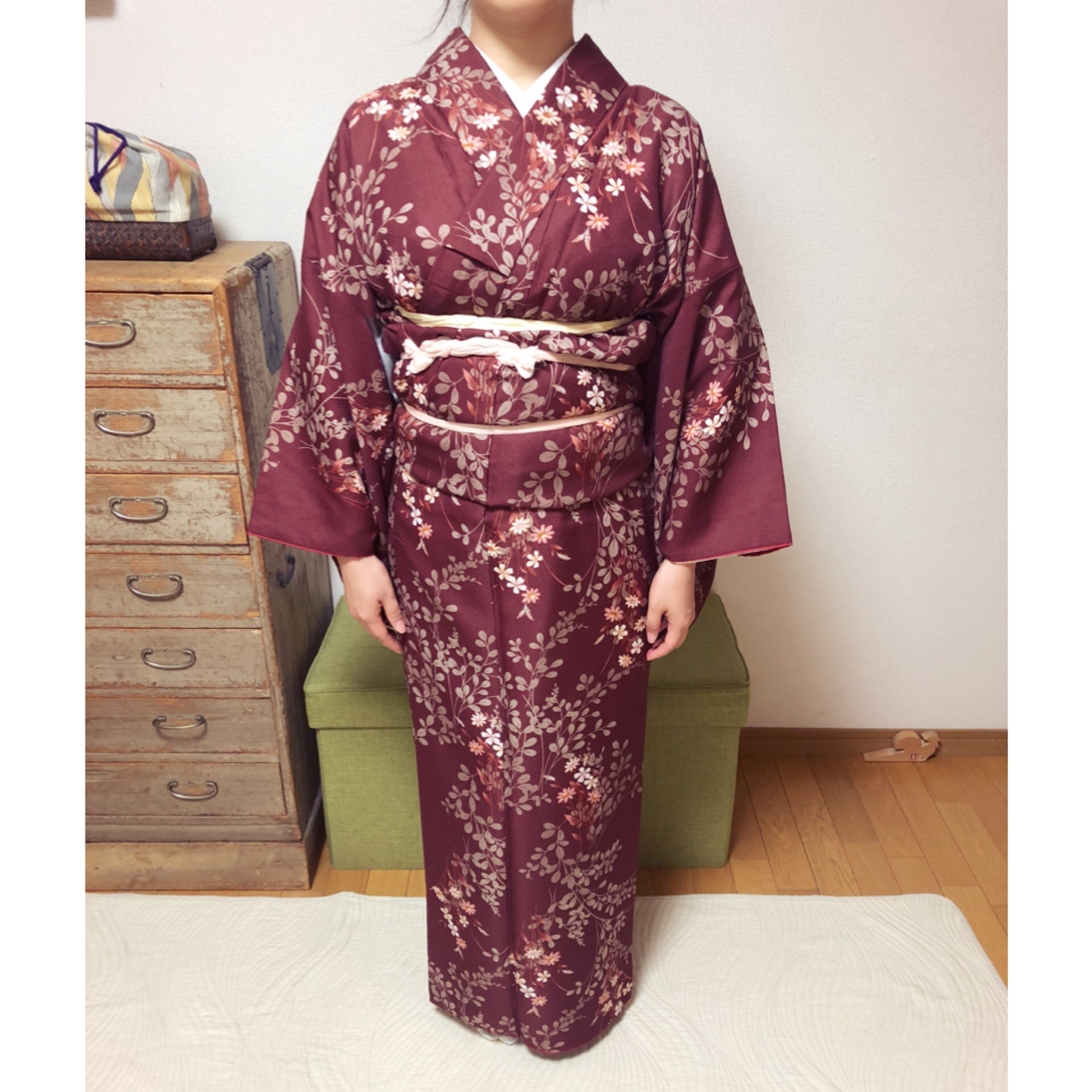 美しい着姿は綺麗の積み重ね【大阪京橋の着付け教室きものたまより】