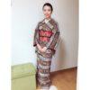 着物も気温に合わせて一日のコーデをしています【大阪京橋の個人着付け教室きものたまより】