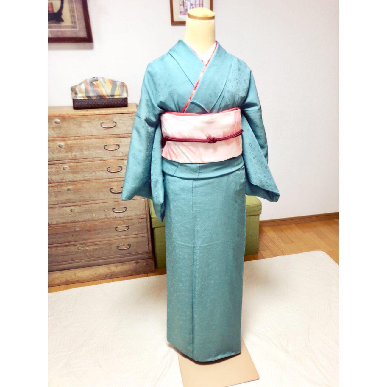 伊達衿が綺麗!着せ付けコース・礼装着物の着せ方【大阪京橋の個人着付け教室きものたまより】