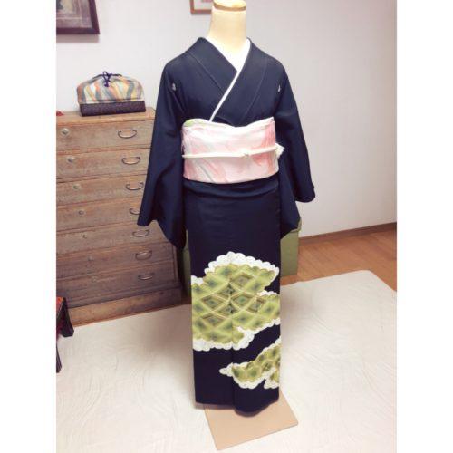比翼衿の作り方のコツ・とにかく重たい留袖と振袖の着付け【大阪京橋の個人着付け教室きものたまより】
