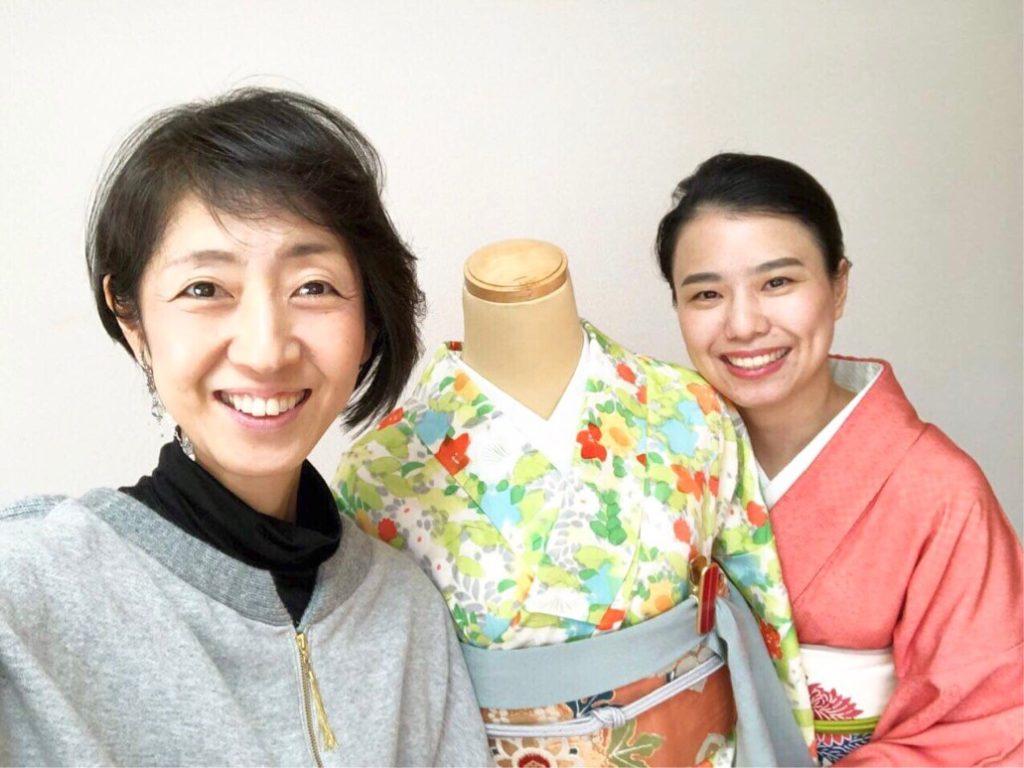 青山智圭子さんと堤千草
