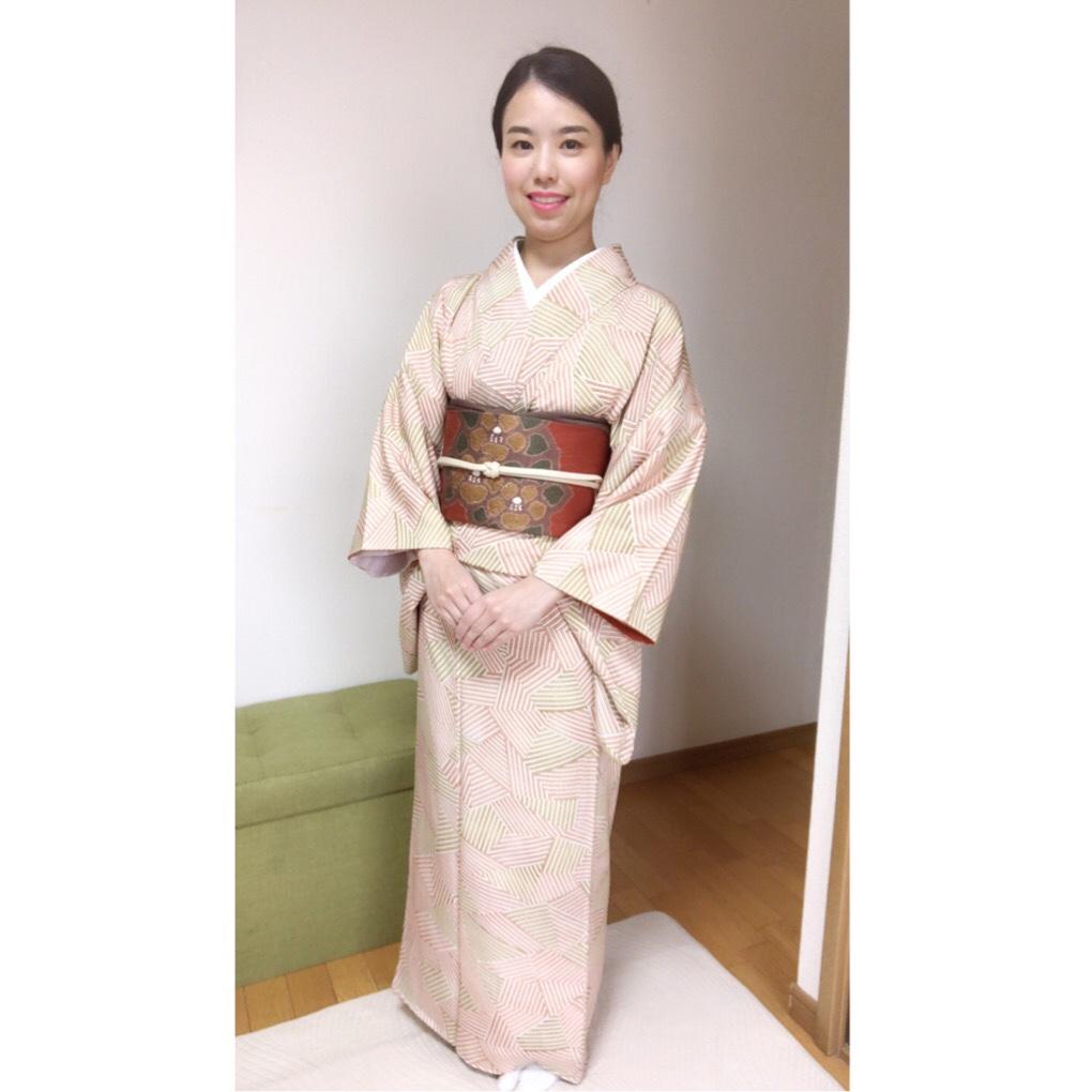 年末から年始めの着物コーデ【大阪京橋の個人着付け教室きものたまより】