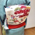 衣紋の抜き具合がとても美しいお生徒さん【大阪京橋の個人着付け教室きものたまより】