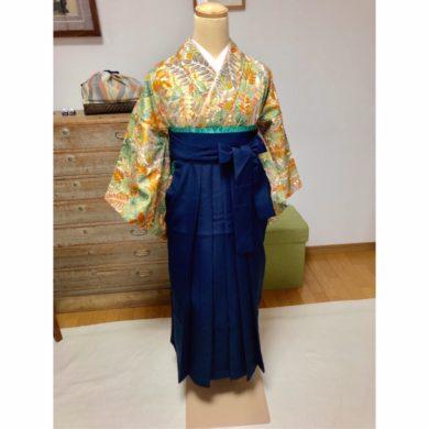 振袖と袴と浴衣を人に着せるレッスン