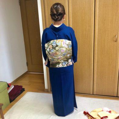 お子さんの卒業式、入学式に向けて・Iさん礼装コース編