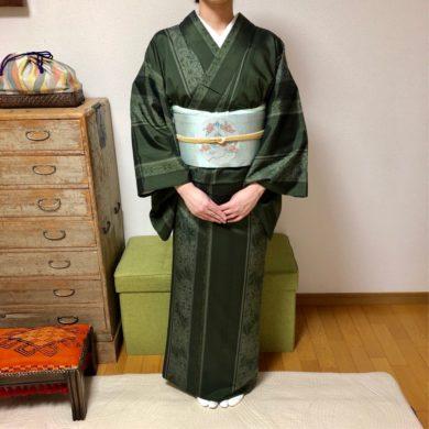 袴の着方レッスンを不器用さんと練習嫌いさんのための基本コースの合間に