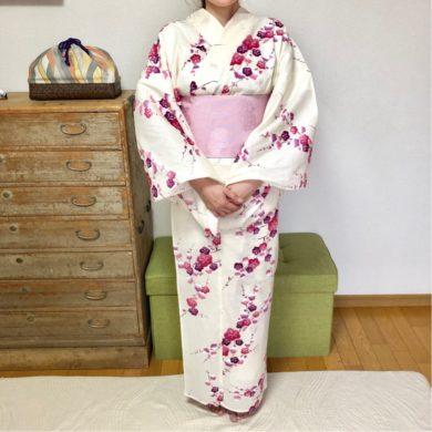 浴衣を着て奈良の燈花会へ
