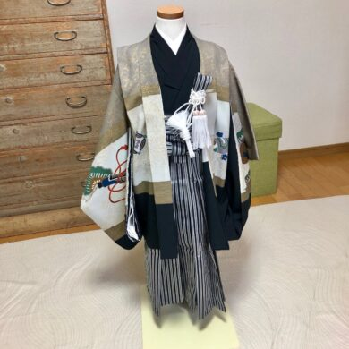 女袴と男着付けと七五三